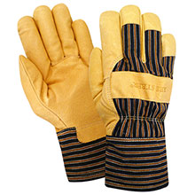 Red Steer Gloves HeatSaver thermal lined grain pigskin 56260