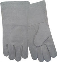 Red Steer Gloves Pearl split cowhide Welding Gloves 6707-L