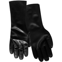 Red Steer Gloves Smooth black premium neoprene Coated 6785-L