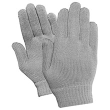 Red Steer Gloves Acrylic magic stretch Cotton Chore Knit 8175