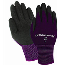 Red Steer Gloves Form fitting Flowertouch super stretch A206-M/L