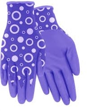 Red Steer Gloves Flowertouch Womens Coated Gloves A208