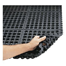 Superior Matting Notrax 3 X 3 Black 3 4in Thick Cushion Ease 550S0033BL