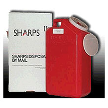 Sharps Compliance Sharps Recovery System 3 Gallon Needle Disposal 13000-008