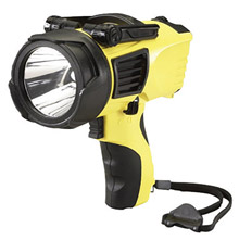 Streamlight SD844900 Yellow Waypoint Non-Rechargeable Pistol Grip Spotlight With 12V DC Power Cord