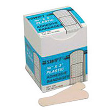 Swift by Honeywell First Aid 3 4in X 3in Plastic Strip Adhesive 10045