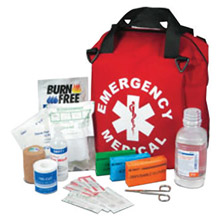 "North by Honeywell SH4346200 15"" X 12"" X 8"" Major Emergency Medical Kit With Soft-Sided"