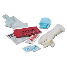 Swift by Honeywell First Aid Body Fluid Clean Up Kit In Clear 552001