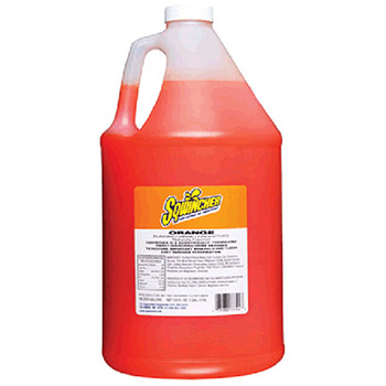 Sqwincher 128 Ounce Liquid Concentrate Orange Electrolyte 040204-OR