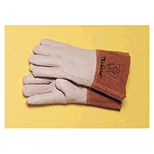 John Tillman & Co Mig Tig Gloves Small Top Grain Pearl Gray Leather Premium 1350S