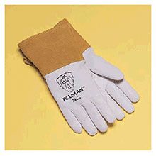 John Tillman & Co Mig Tig Gloves Medium Premium Top Grain Pearl Kidskin 24CM