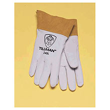 John Tillman & Co Mig Tig Gloves Small Pearl Gray Kidskin Premium Grade 24DS