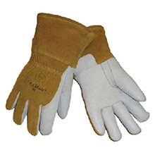 John Tillman & Co Mig Tig Gloves Medium Split Back Leather MIG 48M