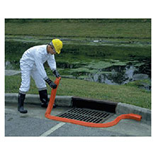 UltraTech International Orange 10 X 4in X 2 1 4in Ultra SpillBerm 2100