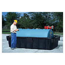 UltraTech International Black Polyethylene Ultra 1000 Containment U172830