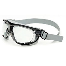 Uvex by Honeywell Safety Glasses Carbonvision Impact Goggles Black S1650D