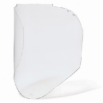Uvex by Honeywell Faceshields Bionic Clear Uncoated Polycarbonate Visor S8550