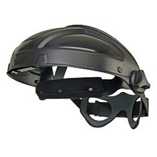 Uvex UVXS9500 by Honeywell Turboshield Black Nylon Ratchet Headgear For Use With  Turboshield Only