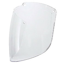 "Uvex UVXS9550 by Honeywell Turboshield 9"" X 15 7/8"" X 3/32"" Clear Uncoated Polycarbonate Faceshield For Use With Turboshield Headgear and Hardhat Adapter Only"