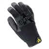 Valeo Anti-Vibration Mechanics Gloves Black Pro Full Finger V140