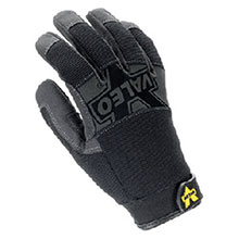 Valeo Anti-Vibration Mechanics Gloves X Large Black Pro Full Finger V140-XL