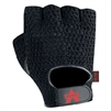 Valeo Mechanics Gloves Black Mesh Fingerless Genuine Leather V450