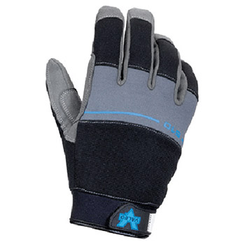 Valeo Cold Weather Gloves 2X Black Gray V510 Thinsulate Lined V510-2X