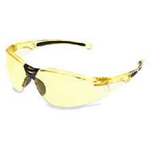 Wilson By Honeywell Safety Glasses A800 Series Amber Frame A802