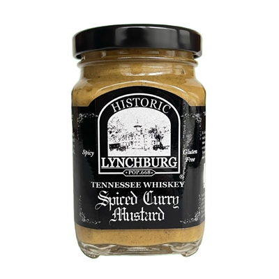 Historic Lynchburg Tennessee Whiskey Spiced Curry Mustard