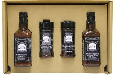 Lynchburg Tennessee Whiskey Rib Glaze & Grilling Sampler