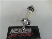 3/8 Glass Fuel Filter   AC133001-38