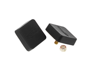 URETHANE BUMP STOP (BLACK) LOW PROFILE STYLE SQUARE