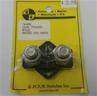 K-FOUR DUAL POWER STUD BLACK