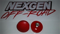 URETHANE BUMP STOP (RED) LOW PROFILE STYLE