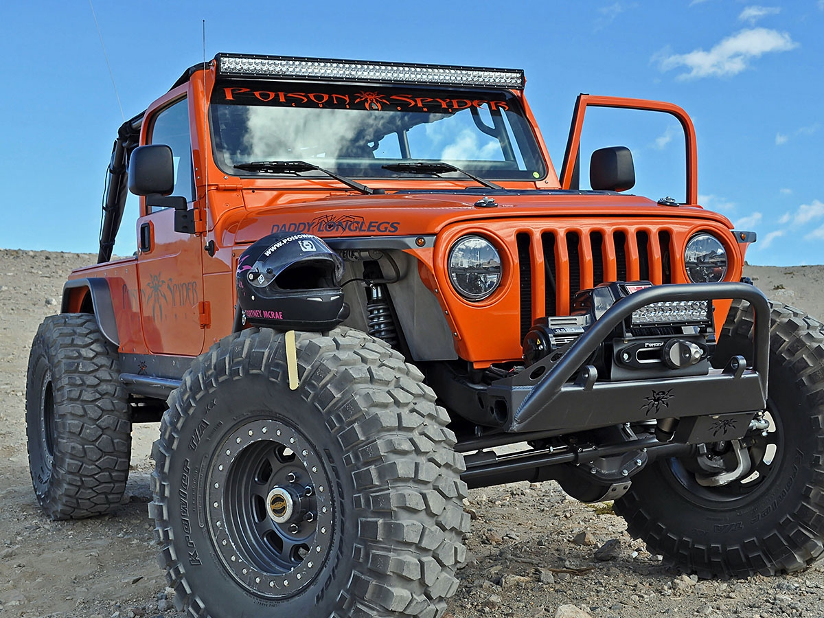 Jeep Tj Brow Mount Kit For 50 Quot Bar