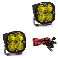 Baja Design Squadron Sport, Pair Amber Led Ditch Light Combo 2014-2020 TOYOTA TUNDRA