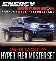 Energy Suspension Hyper-Flex Master Set : 2005-2013 Toyota Tacoma