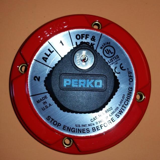 Tacoma Towing Capacity >> Perko Battery Selector Switch w/Key