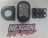 Black Housing Battery Powered Removable LED Dome Light Kit RZR