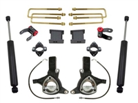 "2007-15 CHEVY SILVERADO 2WD 7.5"" LIFT KIT W/MAXTRAC SHOCKS"