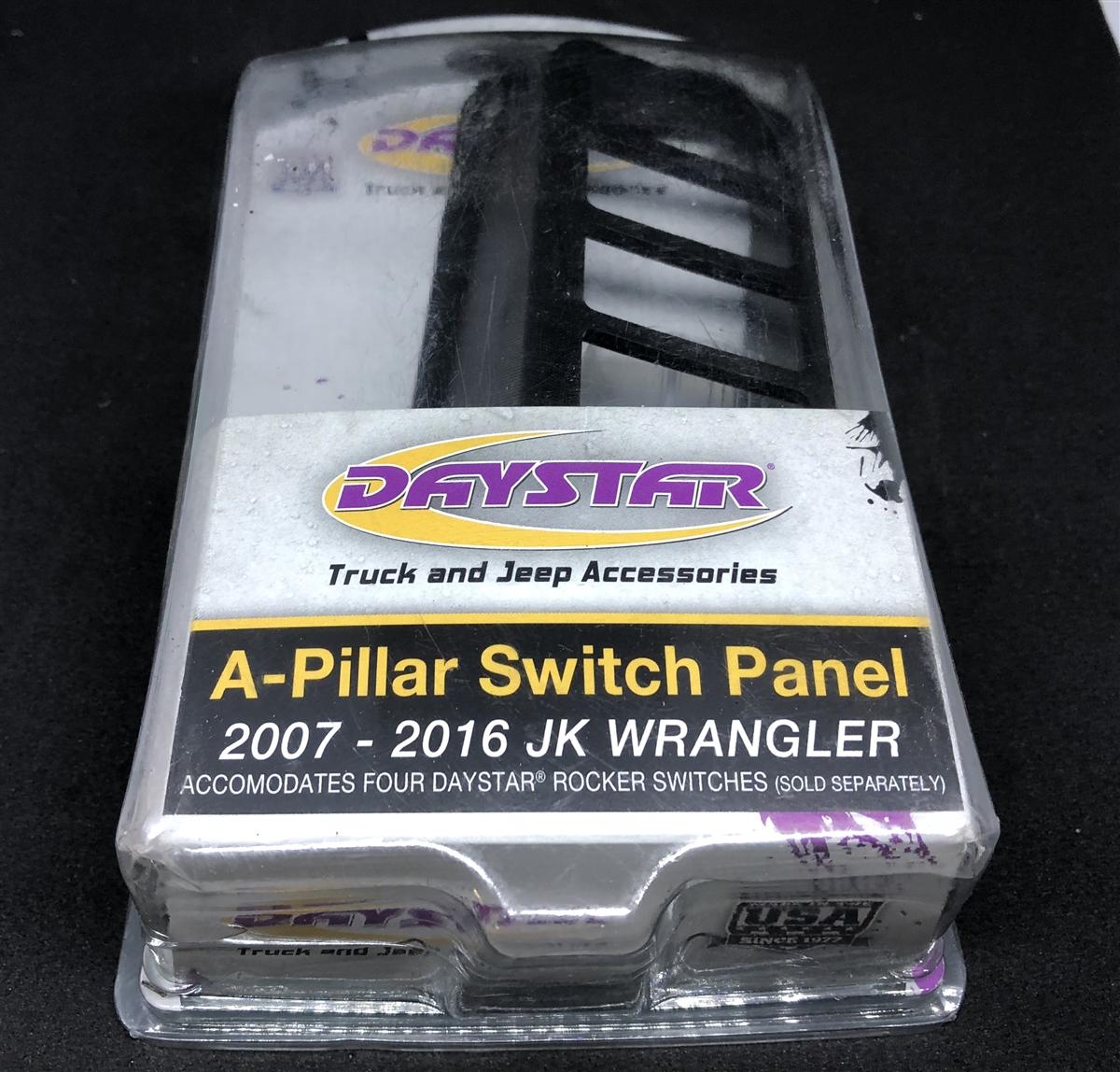 Daystar Kj71055bk A Pillar Switch Pod Fits 07 17 Wrangler Jk Jeep Dash Switches