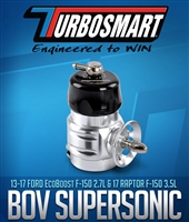 Turbosmart BOV Supersonic 2013+ F150 3.5L and 2.7L EcoBoost - Black