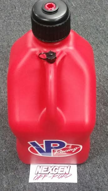 Red Vp Round 5 Gallon Racing Fuel Jug Gas Can Water Container