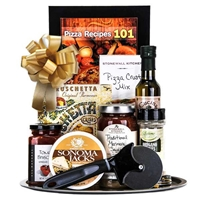 Pizza Night Gift Basket