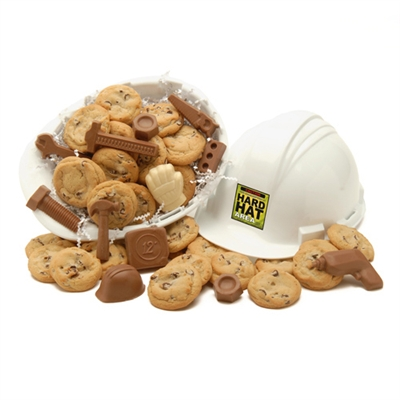 Construction Hard Hat of Snacks
