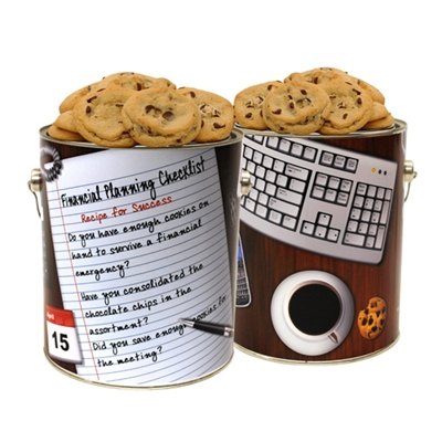 Financial Planner Cookie Gallon