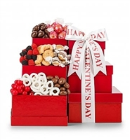 Valentine Chocolate Gift Tower