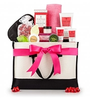 Valentine's Day Spa Weekend Bag