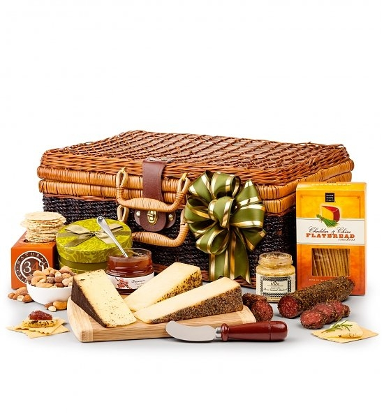 cheese and cracker gift baskets