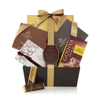 Godiva Chocolate Lover's Gift Basket
